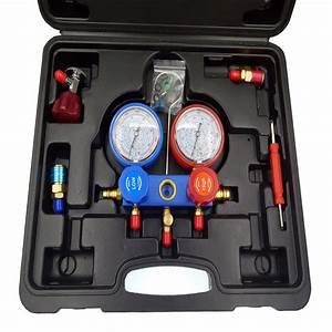 Car Air Conditioning Refrigerant Pressure Gauge Group