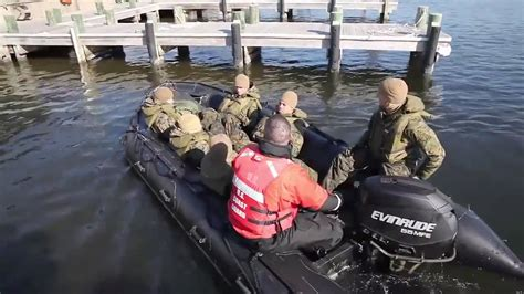Zodiac Boat Training 2nd marine division zodiac boat training youtube