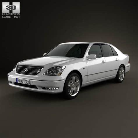 lexus models 2003 lexus ls xf30 2003 3d model humster3d