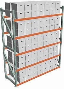 record storage shelving document archive racks With document storage racks