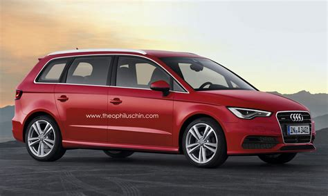Exclusive Audi's Bmw 2 Series Active Tourer Rival Coming