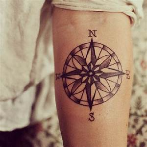 Tattoo Traumfänger Bedeutung : kompass tattoo auf dem unterarm ~ Frokenaadalensverden.com Haus und Dekorationen