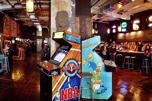 Chelsea39s Barcade Opening With Old School Arcade Games And
