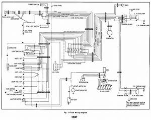 Electrical Wiring Diagram For 1947 Chevrolet Truck  U2013 Auto
