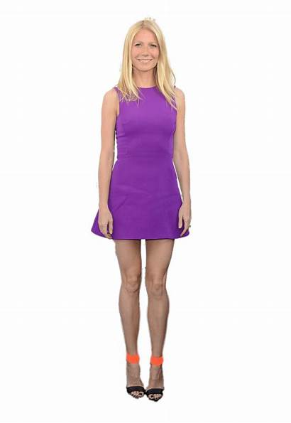 Paltrow Gwyneth Transparent Purple Short Stickpng Uniqua