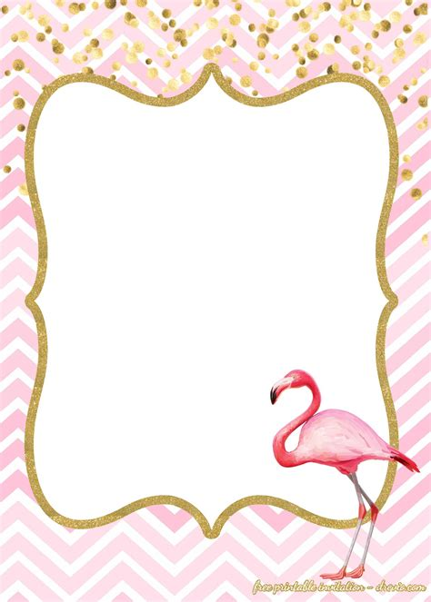 flamingo template free flamingo invitations templates downloadable free invitation templates drevio