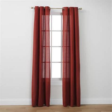 Kmart Curtains Smith by Essential Home Faux Linen Grommet Panel Home Home