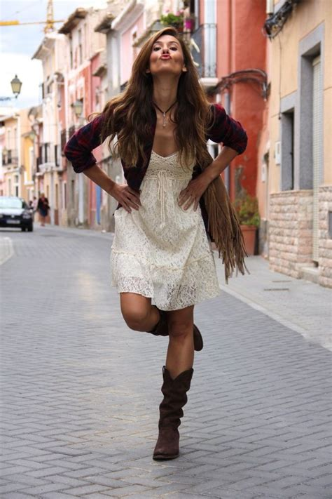 lacy summer dress boots pictures   images