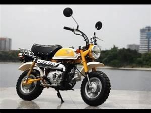 Moto Honda 50cc : honda monkey bike 50cc 2014 fi youtube ~ Melissatoandfro.com Idées de Décoration