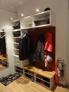 Ikea Hacks Flur : entrance hall wardrobe sch ner wohnen pinterest garderobe garderobe ikea und flure ~ Orissabook.com Haus und Dekorationen