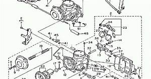 1992 Yamaha Fzr600 Carburetor Diagram Oem