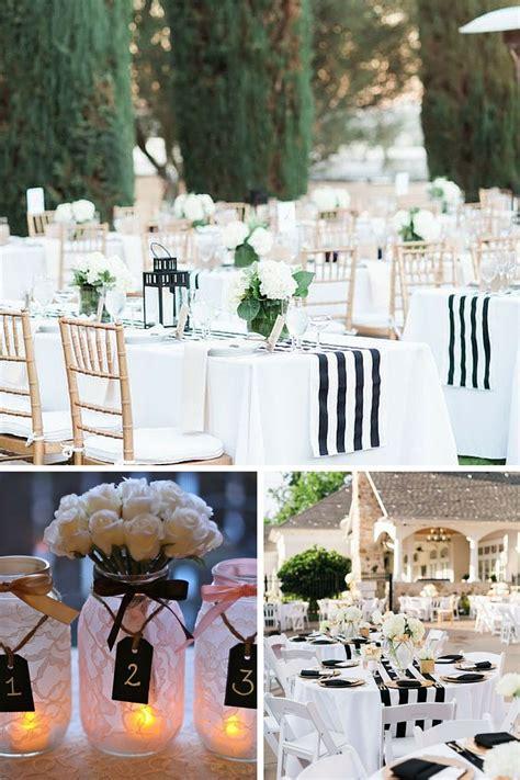 deco de salle mariage noir et blanc deco salle noir et blanc fashion designs