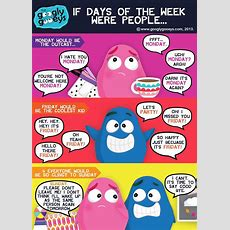If Days Of The Week Were People&the Cronut World Tourgooglygoeys