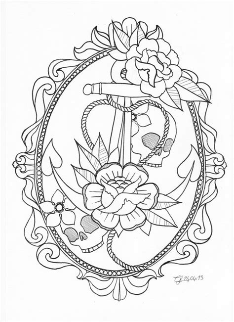 Anchor tattoo by ~CLLU on deviantART | Ink To Drool Over | Tattoos, Anchor tattoos, Anchor