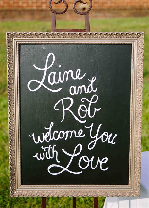 Wedding Signs by 45 Creative Wedding Signs Martha Stewart Weddings