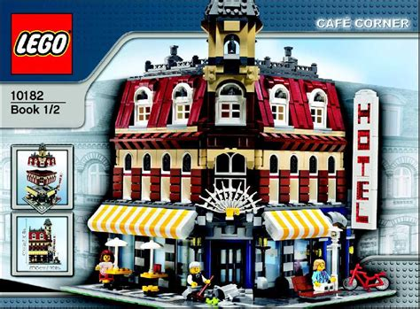 Lego Cafe Corner Instructions 10182, Town