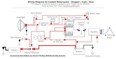 Ducati Led Light Wiring Diagram by How To Solve Wiring On A Cafe Racer