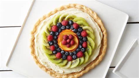 easy fresh fruit desserts easy fresh fruit dessert pizza recipe from pillsbury