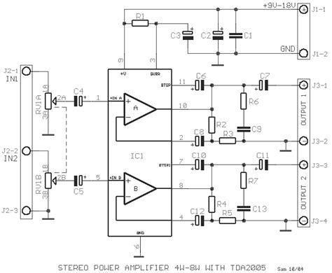 How Build Stereo Power Amplifier With Tda