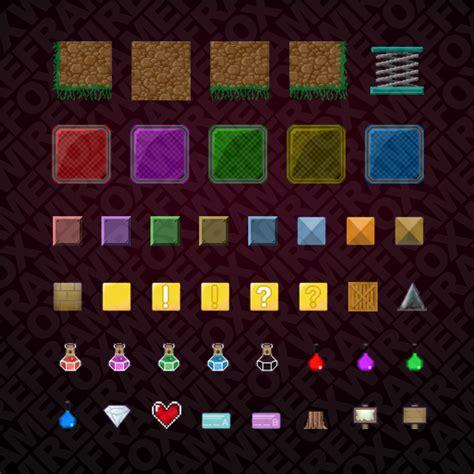 pixel platformer pack game pro market  images