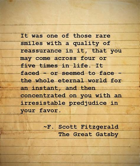 Gatsby Quotes About Smile. Quotesgram