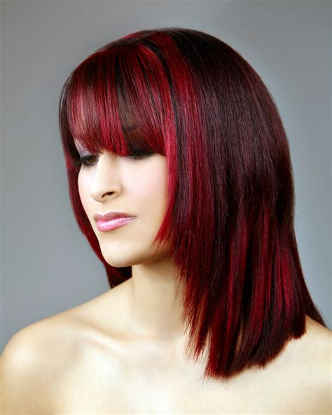 Red Hair Color ~ Womens Interests Beauty Products