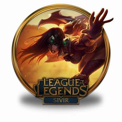 Sivir Icon Visual Upgrade League Icons Legends