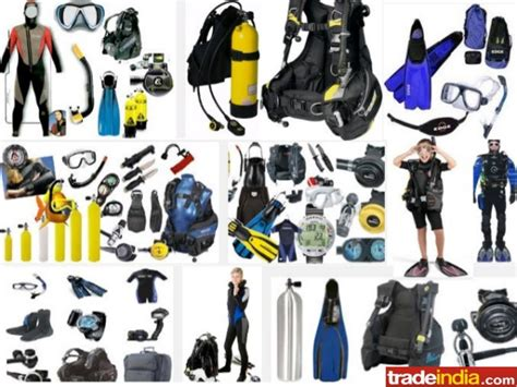Dive Equipment Scuba Diving Equipment List