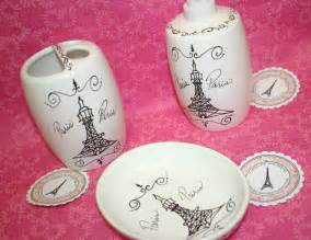 paris themed bathroom accessories soap dish by
