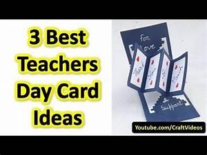 Teachers Day Card Ideas These are 3 Best Handmade