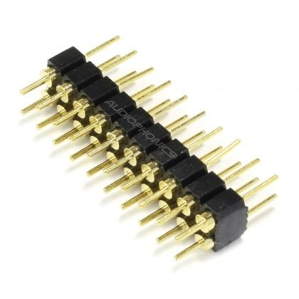 mm male pin header  pins mm rounded unit