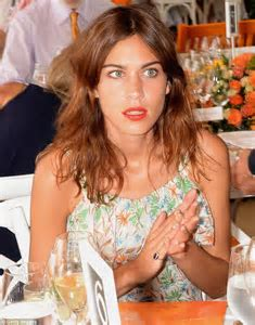 Blooming gorgeous: Alexa Chung steps out in girly floral
