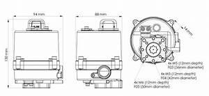 Ag Quarter Turn Actuator 100-240v Ac 20nm F03  F04  F05