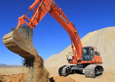doosans  dxlc   dxlc  excavators increase torque digging force  lifting capacity