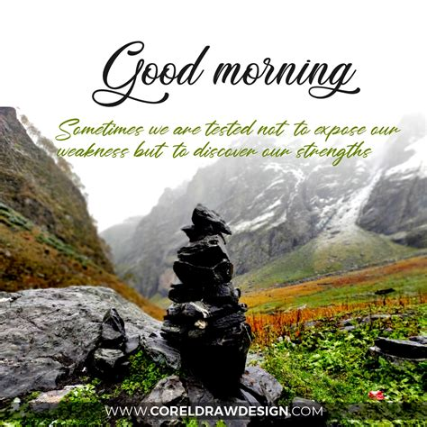 good morning beautiful mountain background