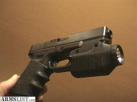 glock 23 tactical light object moved