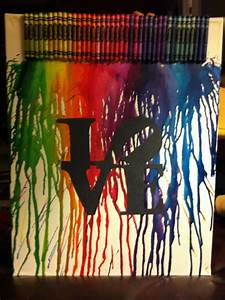 17 best images about crayon art on pinterest melted for Melting wax for letters