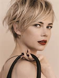 Grow Out My Pixie Cut?   Michelle Williams, Pixie Cuts and Long Pixie