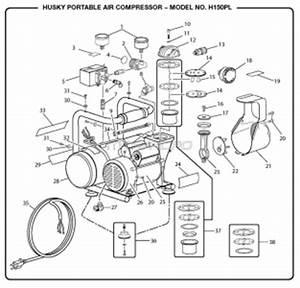 H150pl Portable Air Compressor Manual