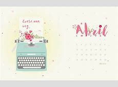 Calendario descargable Abril 2017 • Silo Creativo