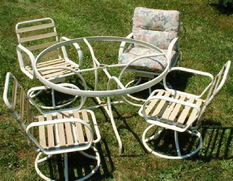 tubular aluminum outdoor furniture