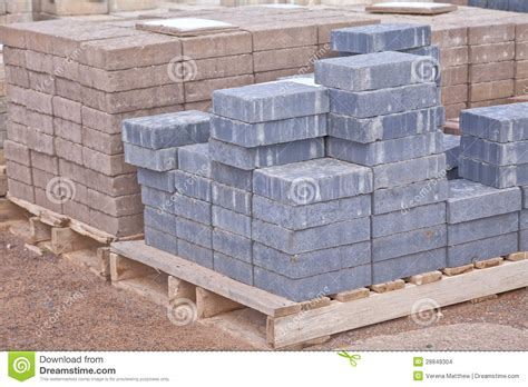 concrete pavers stock images image 28848304