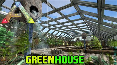 Ark Boat Irrigation by Ark Survival Evolved Base Update Greenhouse 5