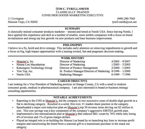 What To Write In A Resume Summary Statement by Exles Of Resume Summary Statements Best Resume Exle