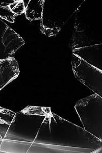 Broken Glass iPhone wallpaper