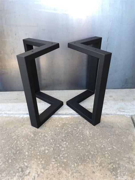 metal legs for a desk l shape metal legs set of 2 coffee table legs metal table
