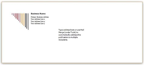 letter envelope exle 40 editable envelope templates for ms word word excel