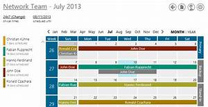 joomla upload templatefilejoomla 3 screenshot der With on call rotation calendar template