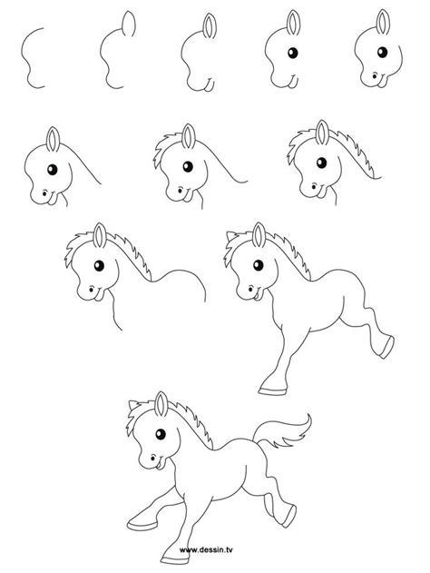 easydrawingsteps learn   draw   pony