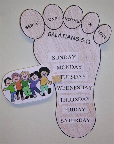 bible crafts for children s sunday school preschool 197 | servingfootlarge